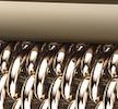 goud roestvrij staal milanees