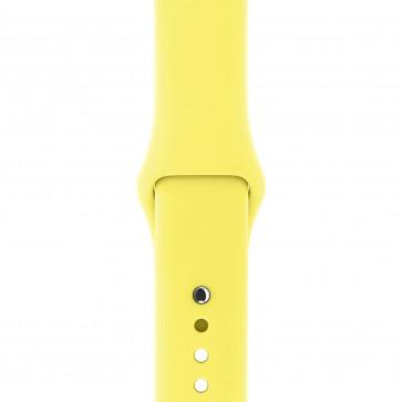 Apple Watch sportbandje citroengeel