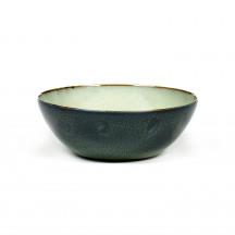 Serax Terres de Rêves bowl 18,4 cm mistgrijs / donkerblauw