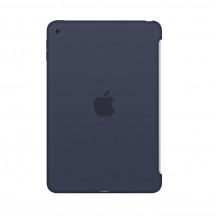 Apple iPad mini 4 silicone case middernachtblauw