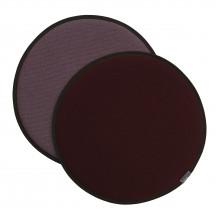 Vitra Seat Dot donkerrood/nero - donkerrood/ijsblauw