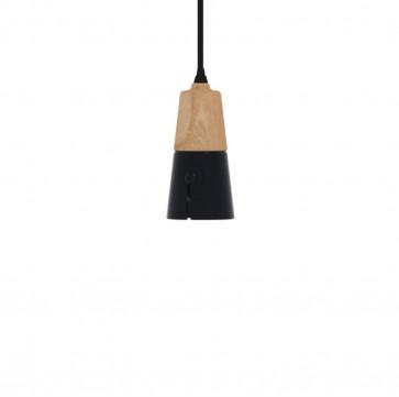 Universo Positivo Cone hanglamp long zwart