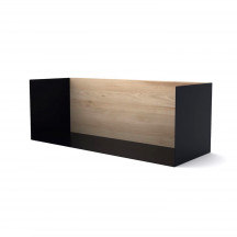Ethnicraft U Shelf medium zwart