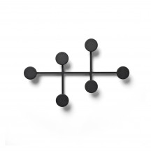 Menu Afteroom Coat Hanger zwart