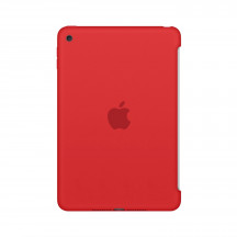 Apple iPad mini 4 silicone case rood