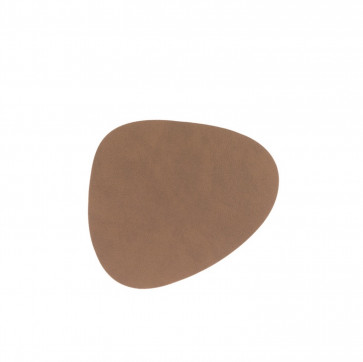 LinddNA Curve glasonderzetter nupo bruin