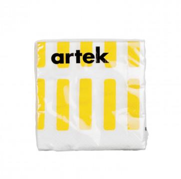 Artek Siena servetten wit/geel