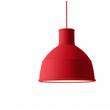 Muuto Unfold pendellamp dusty red