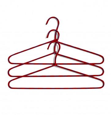 Hay Cord Hanger Stripe Burgundy