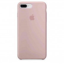 Apple iPhone 8 Plus/7 Plus siliconenhoesje rozenkwarts