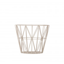Ferm Living Wire Basket small grijs