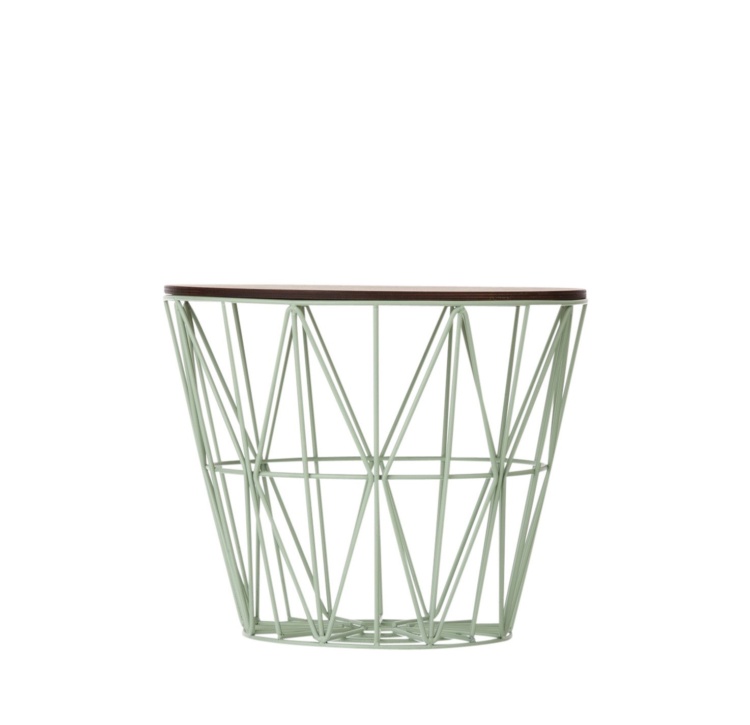 ferm living wire basket table small munt. Black Bedroom Furniture Sets. Home Design Ideas