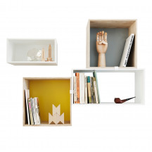 Muuto mini stacked wandmontage