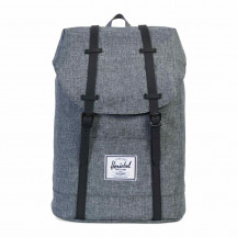 Herschel rugzak Retreat raven crosshatch