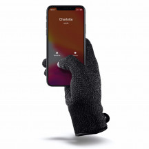 Mujjo Knitted, Double Layered Touchscreen handschoenen