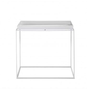 Hay Tray Table rechthoekig wit