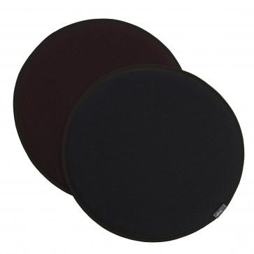 Vitra Seat Dot donkergrijs/nero - marron/nero