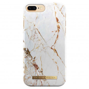 iDeal of Sweden Case iPhone 8/7/6(s) Plus carrara gold marble