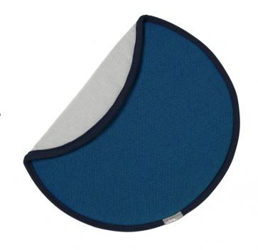 Vitra zitkussen Seat Dot blauw/spargroen