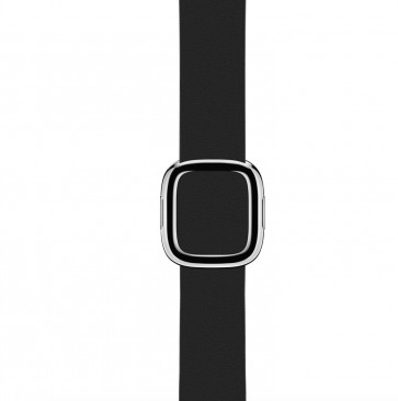 Apple Watch zwart bandje moderne gesp