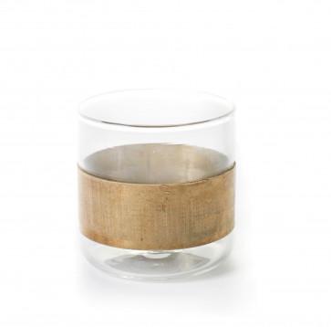 Serax glas Copper Chemistry (brass)