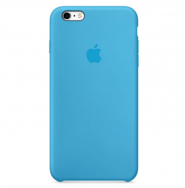 Apple iPhone 6s Plus silicone case blauw