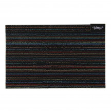Chilewich deurmat Skinny Stripe dark multi