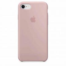 Apple iPhone 8/7 siliconenhoesje rozenkwarts