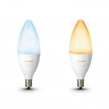 Philips Hue White Ambiance E14-kaarslampen duopak
