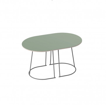 Muuto Airy Coffee Table small dusty green