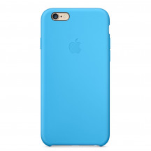 Apple iPhone 6 Plus silicone case blauw