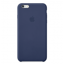 Apple iPhone 6 Plus Leather Case middernachtblauw