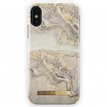 iDeal of Sweden Case iPhone XS Max sparkle greige marble