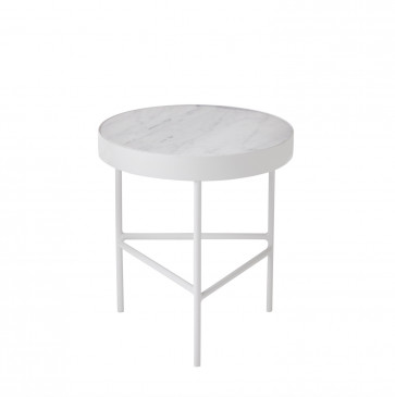 Ferm Living Marble Table medium wit