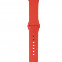 Apple Watch sportbandje oranje
