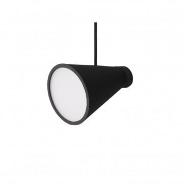 Menu bollard lamp zwart