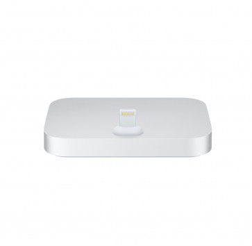 Apple iPhone Lightning Dock zilver