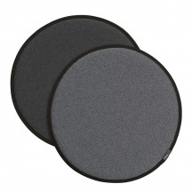 Vitra Seat Dot nero/crème - sierra grijs/nero