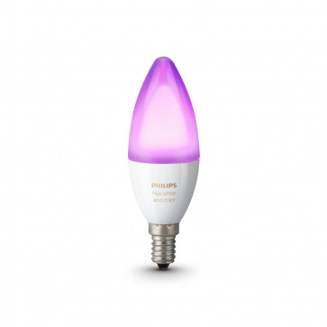 Philips Hue White & Color Ambiance E14-kaarslamp