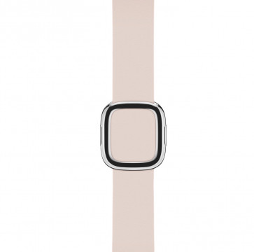 Apple Watch zachtroze bandje moderne gesp