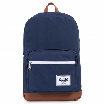 Herschel rugzak Pop Quiz navy/tan