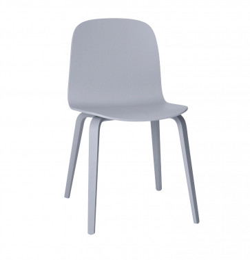 Muuto Visu Chair Wood Frame grijs