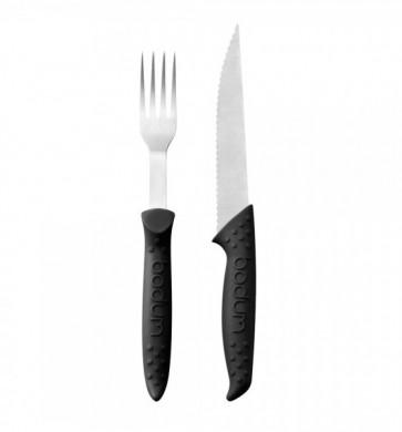 Bodum barbecue steakmes & vork