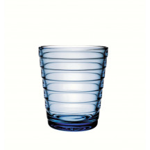 iittala Aino Aalto glas lichtblauw