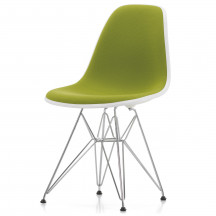 Vitra Eames Plastic Side Chair DSR bekleed