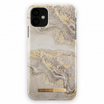 iDeal of Sweden Case iPhone 11 sparkle greige marble