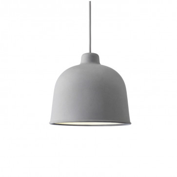 Muuto Grain hanglamp grijs
