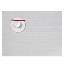 Chilewich placemat mini basketweave white