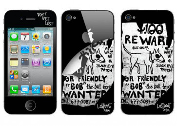 Lostdog Skin iPhone 4(S)