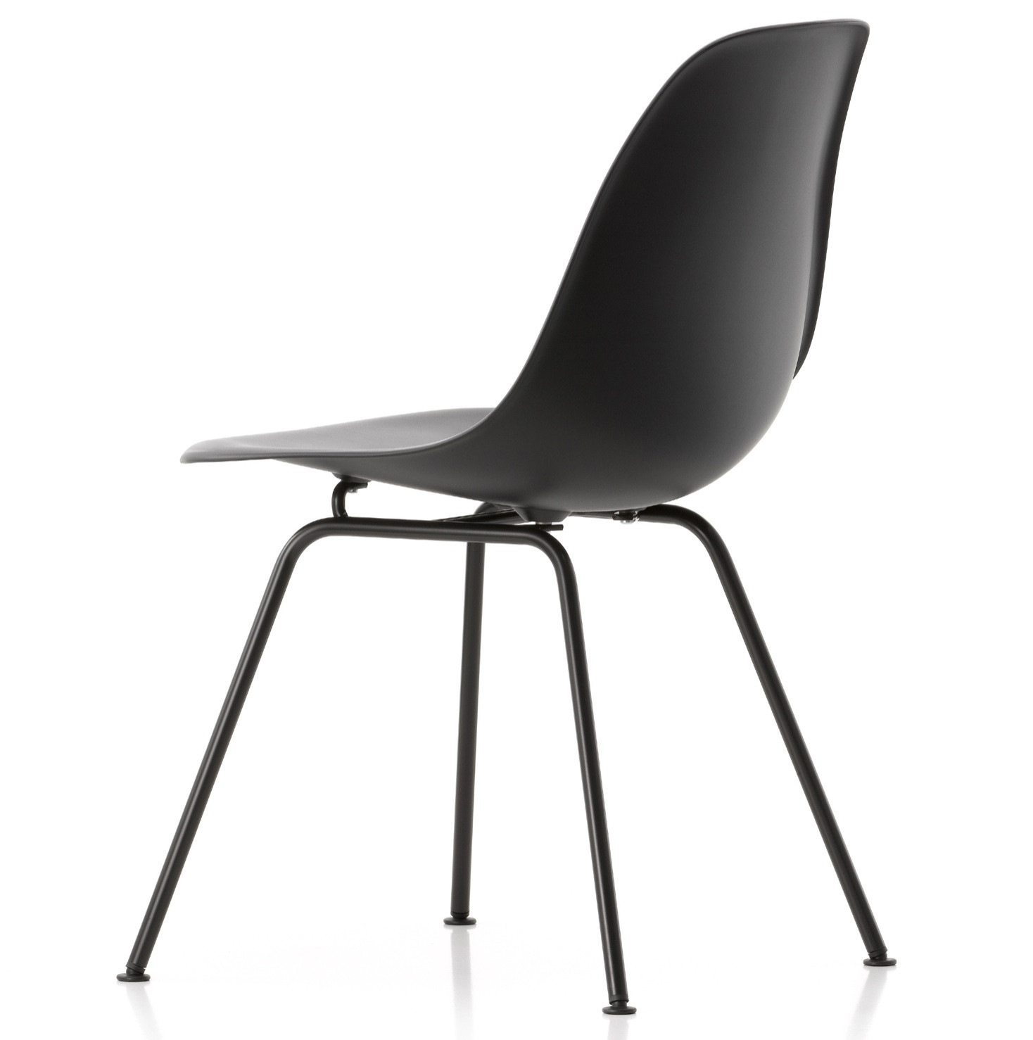 Eames DSX plastic dining side chair 3d model